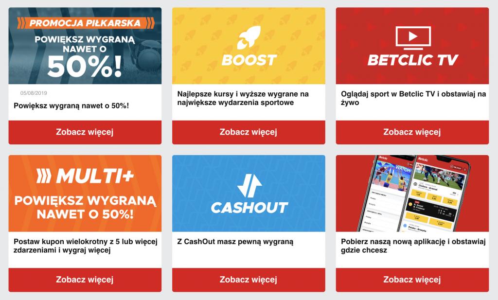 betclic polska bonus bez ryzyka